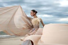 Модная модель стоковая фотография