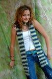модная девушка предназначенная для подростков Стоковое Фото