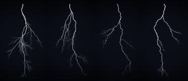 молния болта предпосылки красивейшая Стоковая Фотография RF