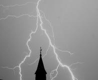 Молния! стоковые фотографии rf