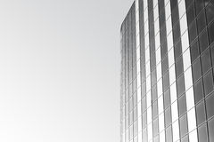 Модное офисное здание стоковое фото rf