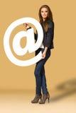 Модные женские перчатки аксессуаров, сумки, высоко-накрененные ботинки, Стоковое Изображение RF
