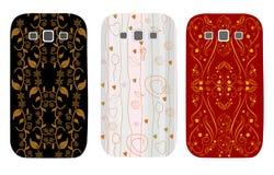 Модные случаи дизайна для телефонов Стоковая Фотография
