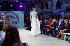 Модный парад выставочного зала 35 проекта Стоковые Изображения