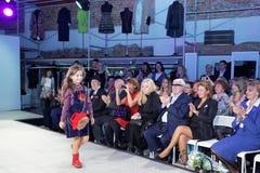 Модный парад выставочного зала 35 проекта Стоковые Фото