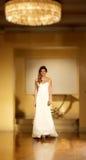 Модный парад свадьбы Стоковая Фотография