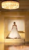Модный парад свадьбы Стоковые Изображения RF