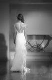 Модный парад свадьбы Стоковые Фото
