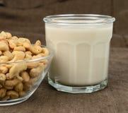 Молоко анакардии Стоковые Фото