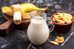 Молоко банана Стоковые Фотографии RF