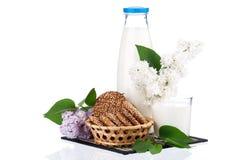 молоко бутылки Стоковое фото RF