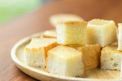 Молоко и сахар заполнения масла здравицы Стоковая Фотография
