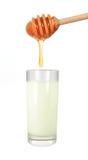 молоко меда Стоковое Фото