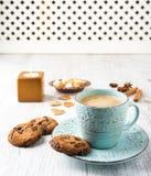 молоко печений кофе Стоковое Фото