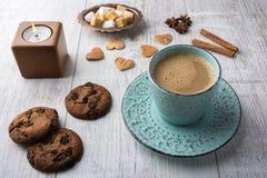 молоко печений кофе Стоковое Изображение