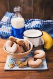 молоко печений Стоковое Изображение