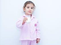 Молоко ребенк Стоковая Фотография