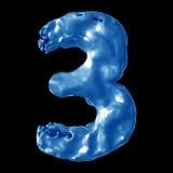 Молоко сини 3 Стоковые Изображения RF