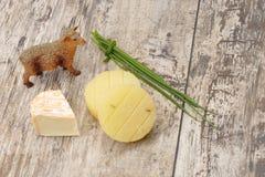 молоко сыра Стоковое Изображение