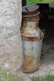 молоко чонсервной банкы старое Стоковое фото RF