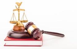 Молоток закона Стоковое Фото