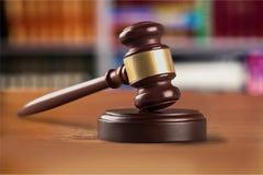 Молоток закона Стоковая Фотография RF