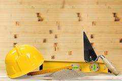 молоток конструкции оборудует окно Стоковое Фото