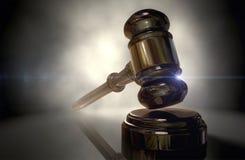 Молоток правосудия Стоковая Фотография RF
