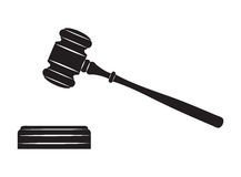 Молоток судьи Стоковое фото RF
