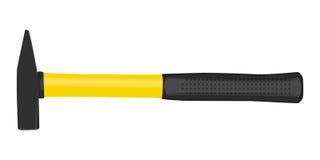 Молоток с резиновой ручкой иллюстрация вектора