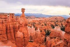 Молоток ` s Тора, амфитеатр каньона Bryce стоковое изображение