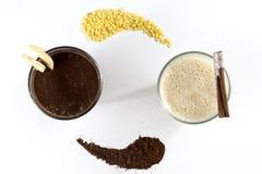 2 молочного коктейля Стоковое Фото