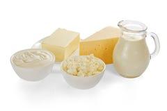 Молочные продукты стоковое фото