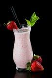 Молочный коктейль клубники Стоковая Фотография