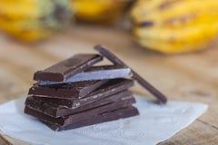 Молочный шоколад Стоковые Фото