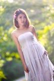 Молодая азиатская девушка Стоковые Изображения