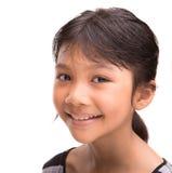 Молодая азиатская портретная живопись i девушки Стоковые Фото