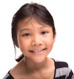 Молодая азиатская портретная живопись II девушки Стоковые Изображения