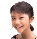 Молодая азиатская портретная живопись III девушки Стоковые Фотографии RF
