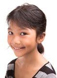 Молодая азиатская портретная живопись IV девушки Стоковые Фотографии RF