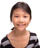 Молодая азиатская портретная живопись VI девушки Стоковое Изображение RF
