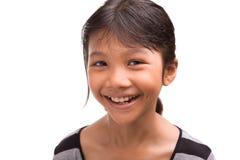 Молодая азиатская портретная живопись VIII девушки Стоковая Фотография RF