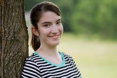 Молодая дама вне портрета Стоковое фото RF