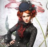Молодая дама Стоковая Фотография RF