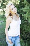 Молодая блондинка Стоковые Фотографии RF