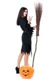 Молодая ведьма Стоковая Фотография RF