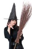 Молодая ведьма Стоковое Изображение