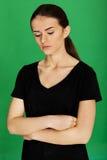 Молодая девушка подростка Стоковая Фотография RF