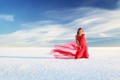 Красная зима Стоковые Фотографии RF