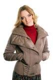 Молодая женщина в куртке Стоковые Изображения RF